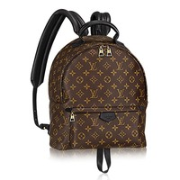 Authentic Louis Vuitton Monogram Canvas Palm Springs Backpack MM Handbag Article: M41561 Made in France