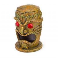Penn Plax Resin Tiki with Ruby Eyes 4 inch