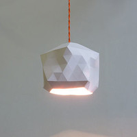 Faceted Globe Pendant Light