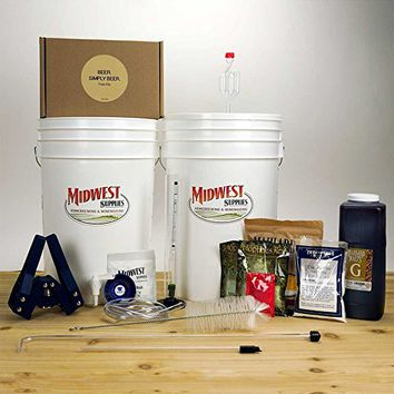 Beer. Simply Beer. Beer Brewing Starter Kit with Pale Ale Recipe Kit