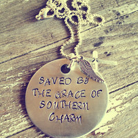 Hand Stamped Aluminum Quote From Miranda Lambert Song Only Prettier
