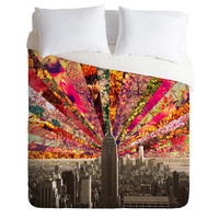 Bianca Green Blooming NY Duvet Cover