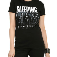 Sleeping With Sirens Photo Girls T-Shirt