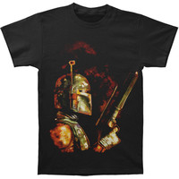 Star Wars Men's  The Bounty Hunter T-shirt Black Rockabilia