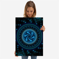 Starry Mandala by Lyle Hatch | Displate