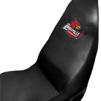 Louisville Cardinals NCAA 51x 21 Car Seat Cover