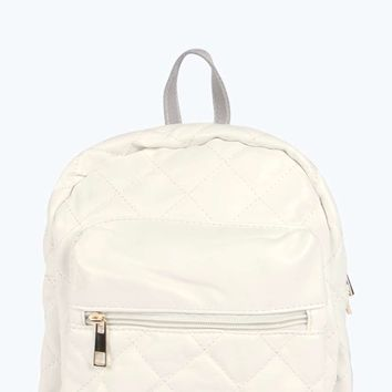Hayley Quilted Bubble Backpack