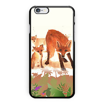 Fox House Vintage Design Custom iPhone 6 Plus Case