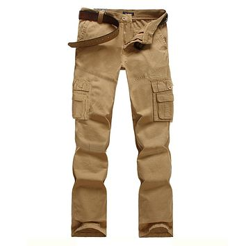 IX9 City Tactical Cargo Pants Men Combat SWAT Army Military Pants Cotton Pockets Stretch Paintball Militar Casual Trousers 28-40