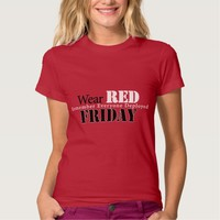 Wear Red on Friday Shirt