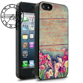 Floweres Wooden iPhone 4s iPhone 5 iPhone 5s iPhone 6 case, Samsung s3 Samsung s4 Samsung s5 note 3 note 4 case, Htc One Case