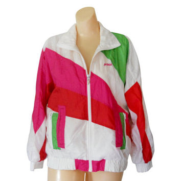 80s 90 Windbreaker Jacket Women Windbreaker Neon Windbreaker 90s Windbreak Wind Breaker Retro Windbreaker Women Spring Jacket Light Jacket