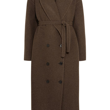 Rochas - Double-breasted cashmere coat
