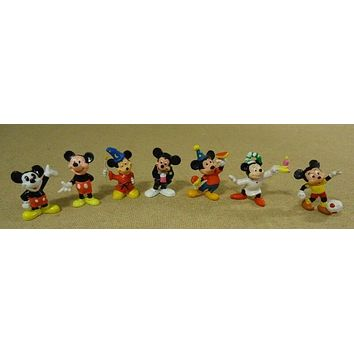Disney Mickey Mouse Figurines 3in