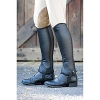 Dublin Adult Flexi II Leather Half Chaps