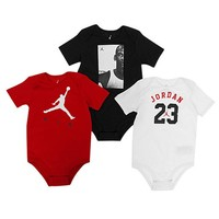 Jordan 3 Piece Creeper Set - Boys' Infant at Champs Sports