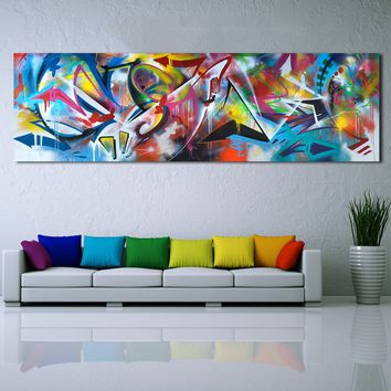YEEL ART Wall Art Oil Paintings Abstract Picture Home Decor Canvas Print For Living Room Modern No Frame