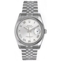 Rolex Datejust Men's Stainless Steel Automatic Watch 116200 - Rolex - Brands | Portero Luxury