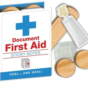 First Aid Sticky Notes Booklet
