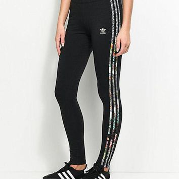 DCCKH3F adidas Originals X Farm Jardim 3 Stripe Leggings