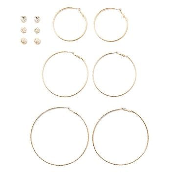 Hoop and Stud Set