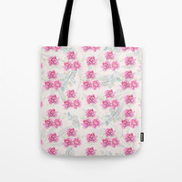 watercolor peonies Tote Bag by sylviacookphotography