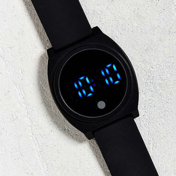 UO Rubber LED Watch | Urban Outfitters