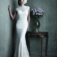 Allure Couture C289 Elegant Lace Wedding Dress