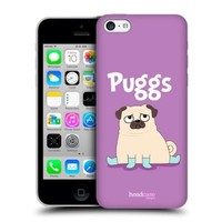 Head Case Designs Puggs Piper The Pug Protective Snap-on Hard Back Case Cover for Apple iPhone 5c