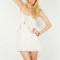 Lovers + Friends Sunkiss Dress in White | SINGER22.com