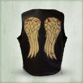 Daryl Dixon Replica Leather Wings Vest