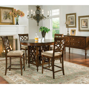Standard Furniture Woodmont 6 Piece Counter Height Dining Room Set
