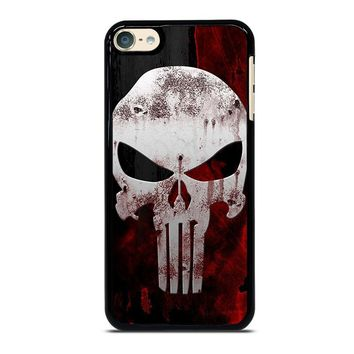 THE PUNISHER SKULL iPod Touch 4 5 6 Case Cover