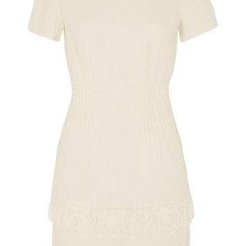 Maje - Rabata tiered tweed mini dress