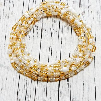 Me To We Forever Rafiki Friend Bracelet - Womens Jewelry - White/Gold - One