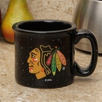 Chicago Blackhawks Black 16oz. Campfire Mug