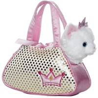 Aurora Fancy Pals - Princess Kitty Pet Carrier