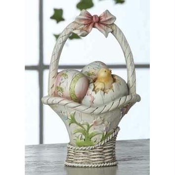 "4 Easter Basket Decorations - 4.13 "" H X 2.76 "" W X 2.56 "" D"