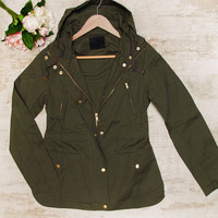 Mercer Jacket - Olive