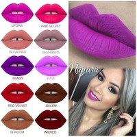 LMFON1O Silky Smooth Liquid Lipstick Matte Finish -Lime Crime Day First