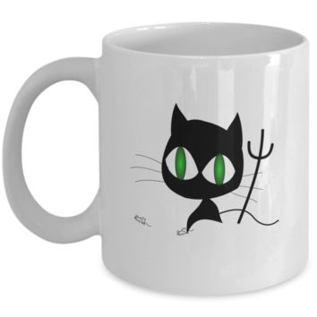 Evil But Cute Coffee Mug for your BFF