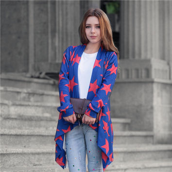 Wool Winter Colorful Cardigan Jacket [8035750465]