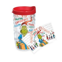Tervis® Dr. Seuss Good Grinch 10-Ounce Wavy Wrap Tumbler with Lid