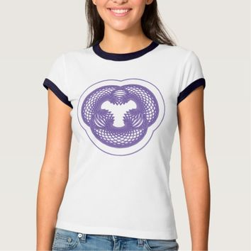 Women's Bella+Canvas Ringer Sacred Geometry T-Shirt