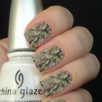 Full Camouflage Nail Art Decals Nail Stickers