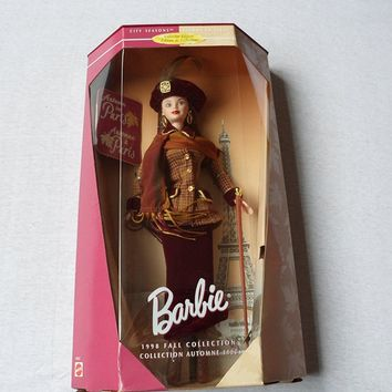 Barbie 1998 Fall Collections - Autumn in Paris Barbie Doll By Mattel