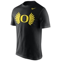 Men's Black Oregon Ducks Nike Alt Logo T-Shirt