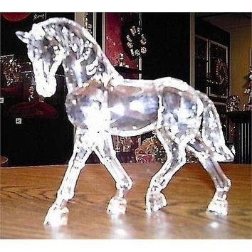 Horse Table Top Figure - From The Icy Crystal Collection