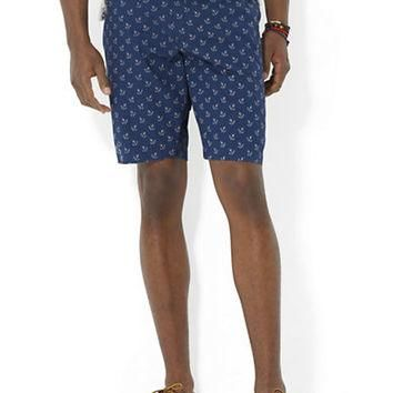 Polo Ralph Lauren Slim-Fit Hudson Anchor-Print Shorts