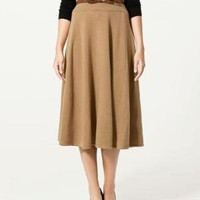 LONG FLARED SKIRT - Skirts - Collection - Woman - ZARA United States